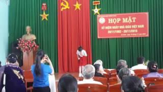 Hữu Hoàng (Guitar- Vạt áo trong mơ)-Thanh Ngọc( đơn ca- Thương Lắm Thầy Cô Ơi) UBND Phường An Bình