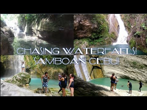 CHASING WATERFALLS! SAMBOAN CEBU TRIP! #daufalls #aguinid #inambakan  #campaelfalls #bugnawanfalls