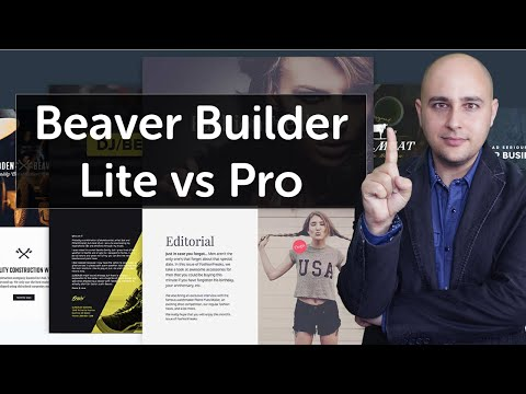 WP Beaver Builder Features Unleashed - Comparison Of Lite & Paid Versions Best WordPress Pagebuilder