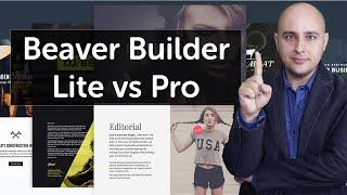 WP Beaver Builder Features Unleashed - Comparison Of Lite & Paid Versions Best WordPress Pagebuilder