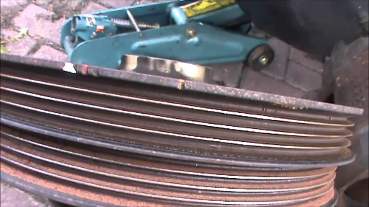 Beautiful Honda CRV Timing Belt Replacement Part 1b   YouTube