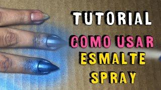 TUTORIAL: Como Usar Esmalte Spray ASPA Spray-on | DIY | Unhas da Lalá thumbnail