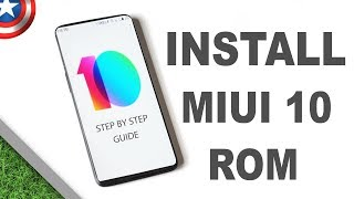 How To Install MiUi 10 Rom in Redmi Note 4 & Oneplus 5T