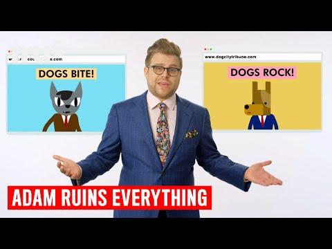 Adam Ruins Everything - What's the Big Deal with Fake News? | truTV