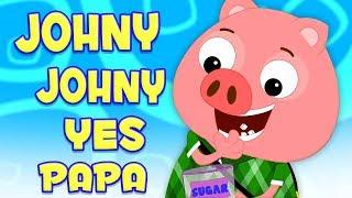 Джонни Джонни да папа | песня для детей | Johny Johny Yes Papa | Preschool Russia