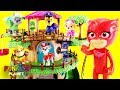 Paw Patrol Pups Play Hide & Seek with a Magical PJ Masks &  Rescue Tree House