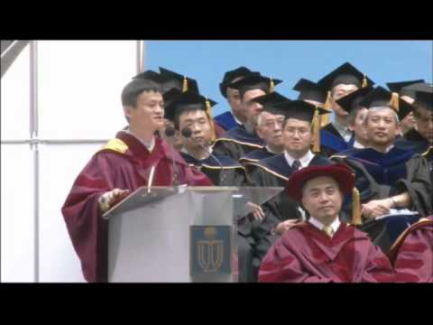 Jack Ma Commencement Address at HKUST