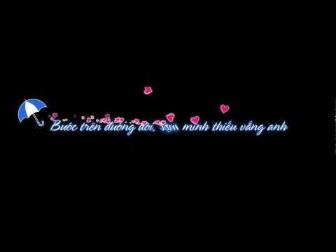 """Aegisub karaoke effects """"Love"""" - Anh - Hồ Quỳnh Hương"""