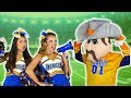 Cheerleaders vs Mascots Song Pop Music High Music Video Totally TV