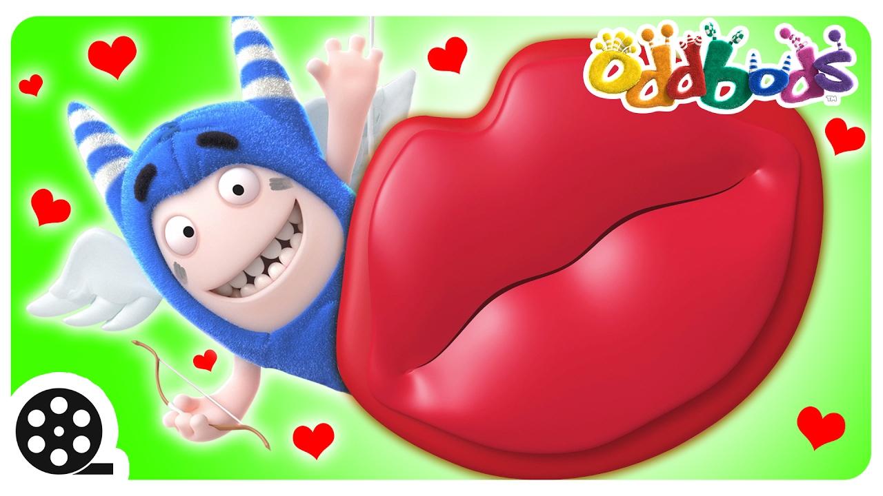 cartoon oddbods get ready for valentines day funny cartoons