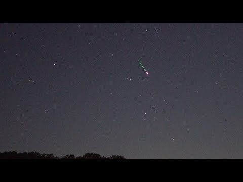 Perseid Meteor Shower, Sauk Rapids, MN  8/12/2017