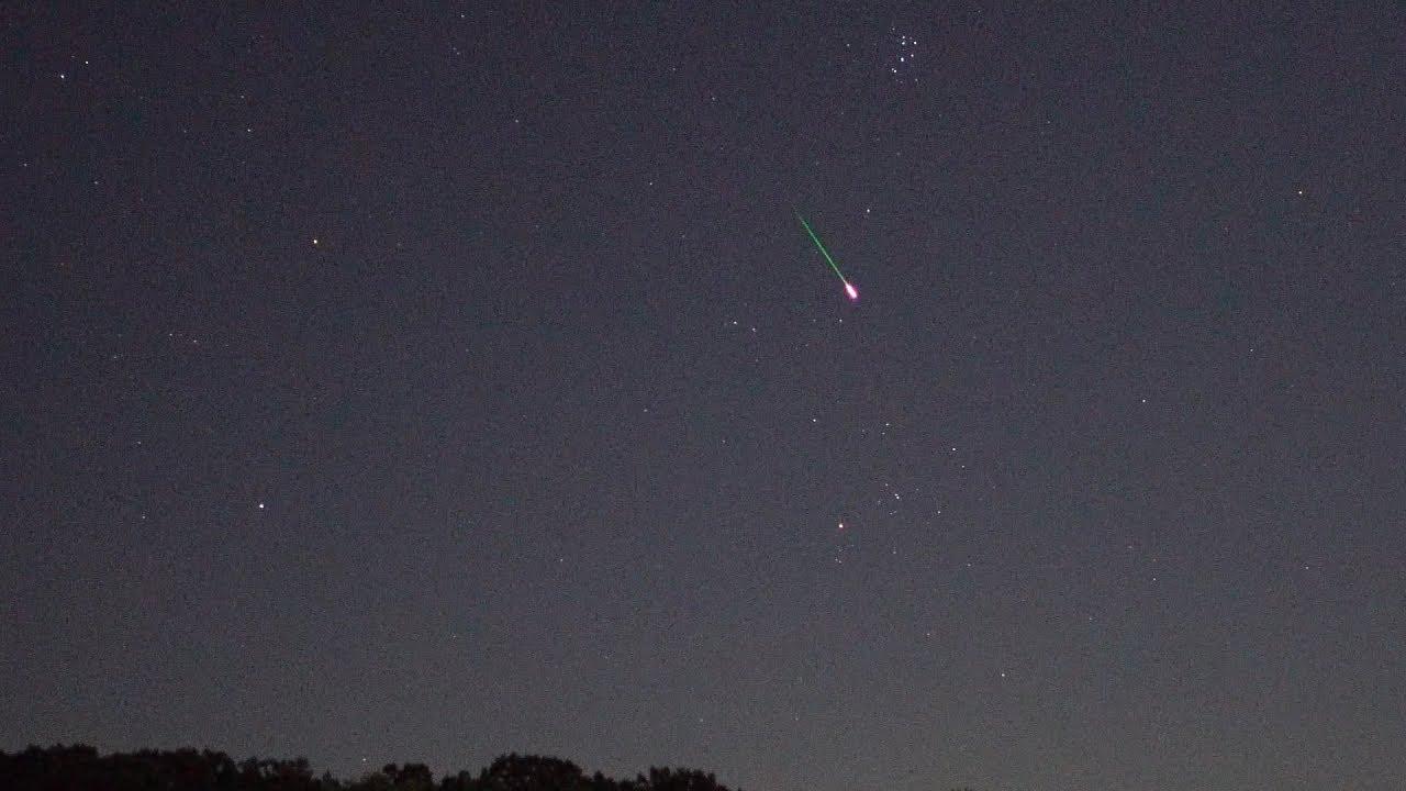 perseid meteor shower sauk rapids mn 8 12 2017