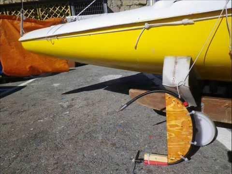 Electric inboard home made entrobordo elettrico per una for Sifone elettrico per acquario fai da te