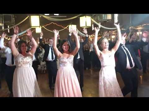 wedding flashmob surprise for bride