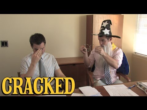 Why Wizards Make Terrible Co-Workers | Cracked Classic