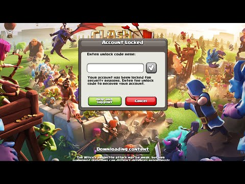 How To Unlock Code On Clash Of Clans | Gamingwithrks | Clash Of Clans