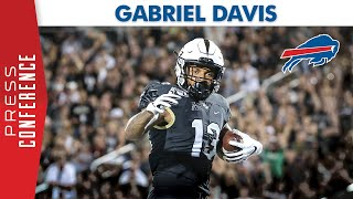 The buffalo bills selected gabriel davis 128th overall in 2020 nfl draft. met with media for first time on saturday via zoom. subscribe: bi...
