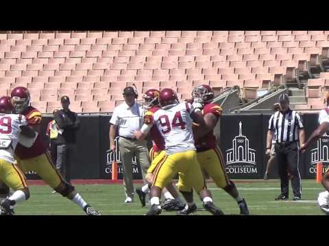 Sights, Sounds and Highlights from USC's spring game