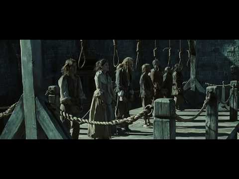Prates Of The Caribbean- At World's End First Scene