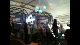 Of Monsters and Men - Little Talks - Sasquatch 2012 in 107.7 The End's Acoustic Tent