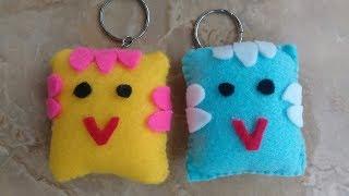DIY Gantungan kunci super cute   Key chain super cute #Craft