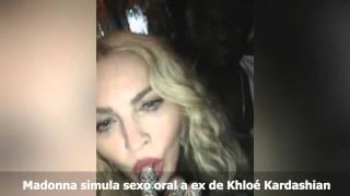 """Video Madonna simula sexo oral a """"ex"""" de Khloé Kardashian download MP3, 3GP, MP4, WEBM, AVI, FLV September 2018"""