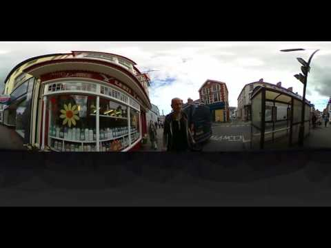 CARDIGAN  WEST WALES FIRST TIME EVER IN 360