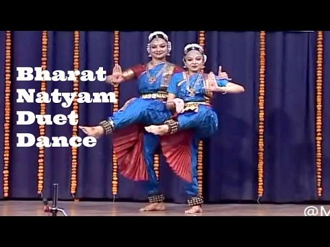 Puja Bhalerao , Shani Mohanty - Bharat Natyam Duet Dance Performance | Indian Classical Dance Forms