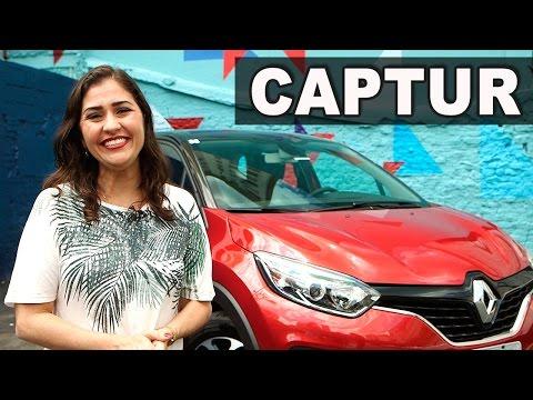Novo Renault Captur 2017 1.6 Manual em Detalhes