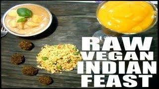 Raw Vegan Indian Meal Recipes