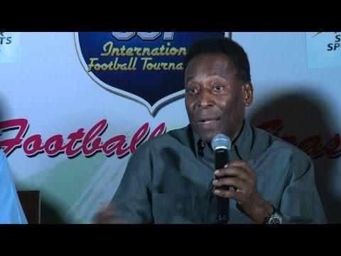 Football star Pele says FIFA scandal is 'a shame'