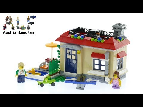 Lego Creator 31067 Modular Poolside Holiday - Lego Speed Build Review
