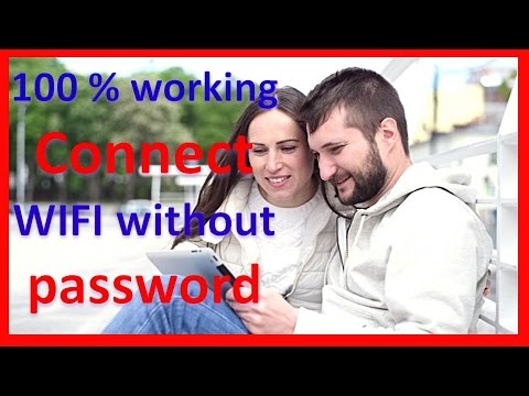 how to connect wifi without password in android mobile