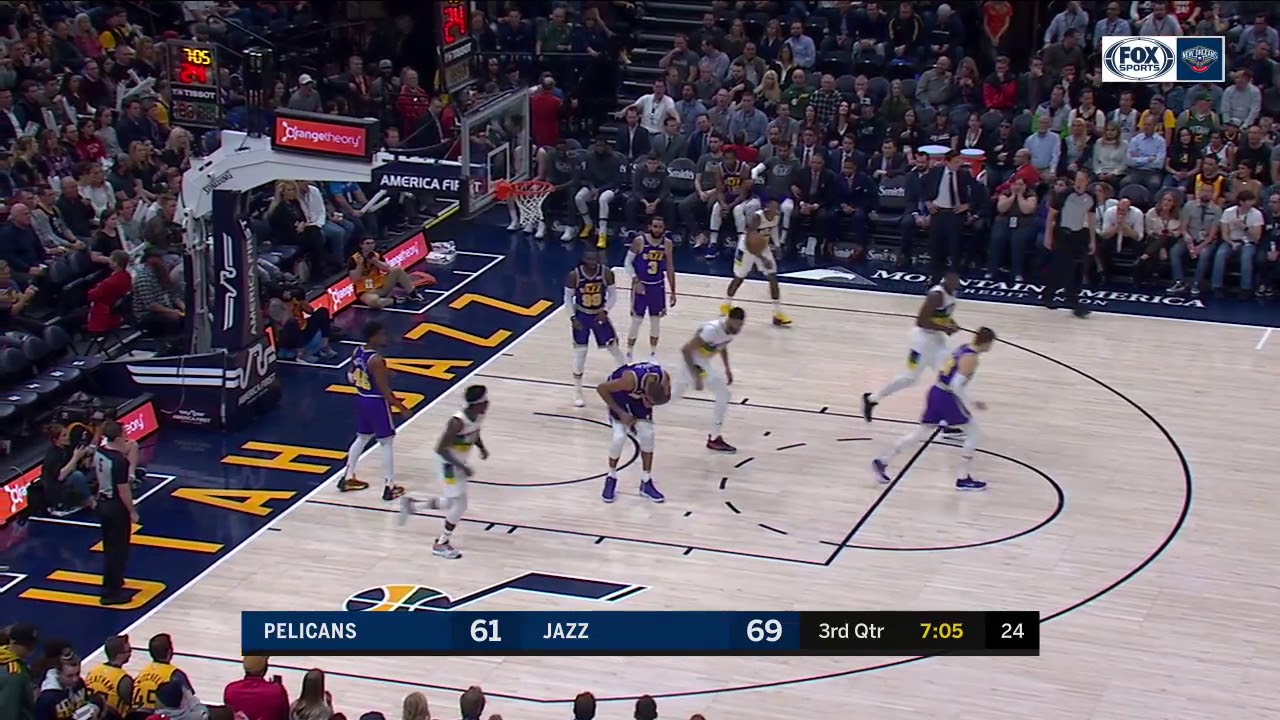 New Orleans Pelicans Rally For A Comeback Win Over The Utah Jazz