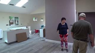 США 5289: Sunnyvale - наша стройка идет полным ходом. Полы, покраска, кухня, розетки -картина маслом