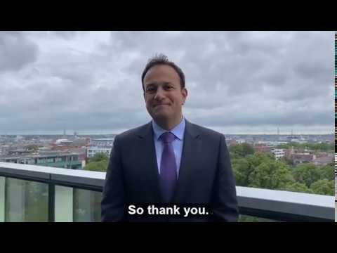 An Tanaiste Leo Varadkar talks about the impact of Foreign Direct Investment in Ireland
