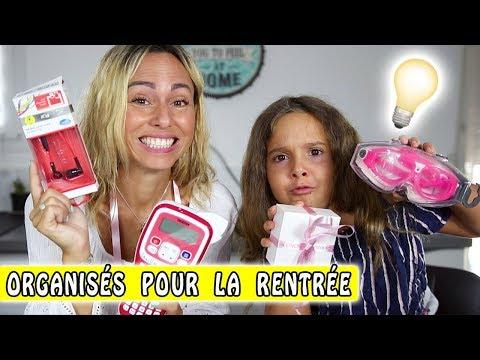 5 IDÉES POUR ÊTRE ORGANISÉ à la Rentrée / Back To school