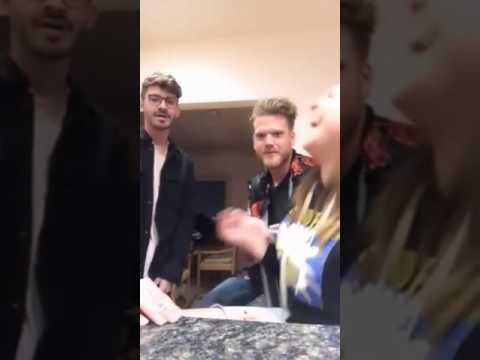 Scott, Mitch and Megg singing Broadway