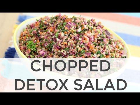 Easy Chopped Detox Salad Recipe - This Easy Chopped Detox Salad is ...
