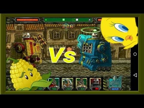 Metal Slug Attack [MSA] Amadeus Tipo Y Vs los Boss más poderosos de MSA