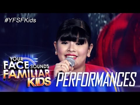 Your Face Sounds Familiar Kids: Elha Nympha As Lea Salonga - Mula Noon Hanggang Ngayon