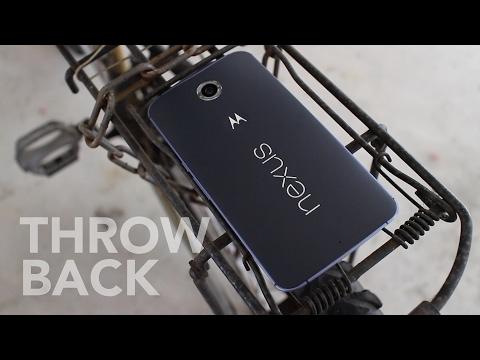 Nexus 6 Throwback: Nougat Goodness