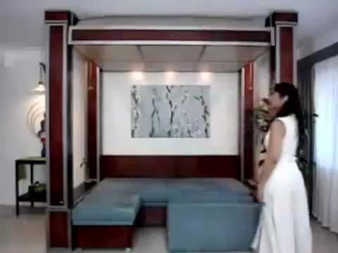 Мебель Лазурит. Спальня Илона Кровати и тумбы - YouTube