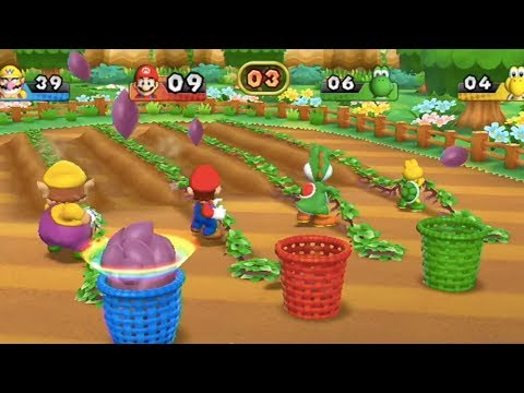 Mario Party 9 - All Sports Minigames (Wario Gameplay) | MarioGamers