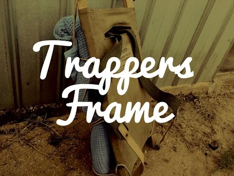 Traditional Trappers Frame   Antique Vintage Backpack