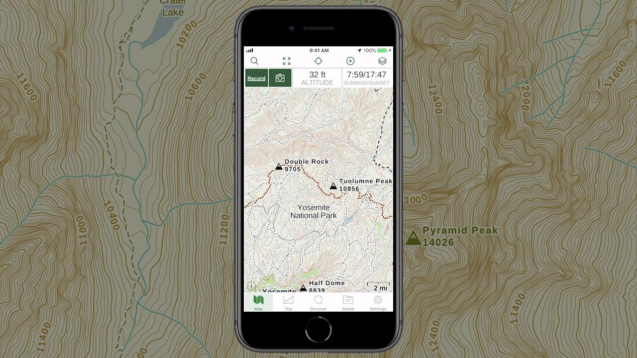 Gaia GPS - Explore the Main Map