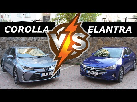 Hangisi daha iyi? Toyota Corolla vs Hyundai Elantra