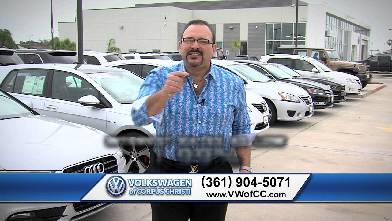 Used Car Dealers Corpus Christi >> Volkswagen Of Corpus Christi Used Cars Texas 361 904 5071 01 16 Commercial