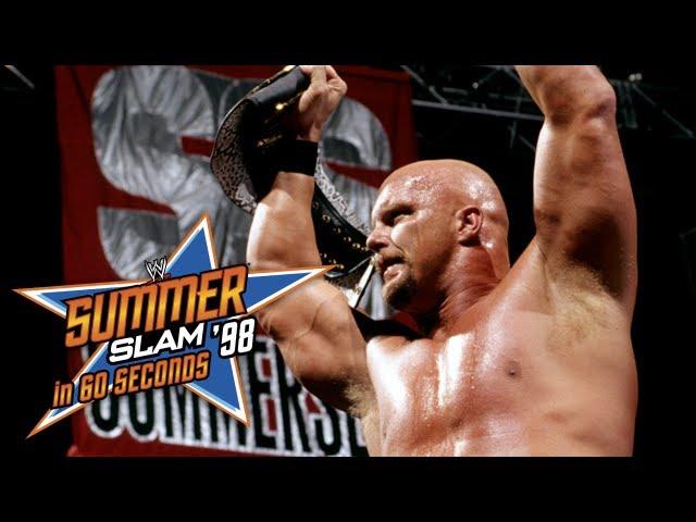 SummerSlam in 60 Seconds: SummerSlam 1998