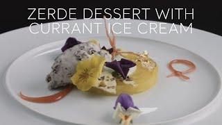 Turkey Home - Zerde Dessert with Currant Ice Cream